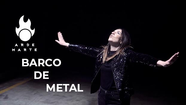 Arde Marte - Barco de metal